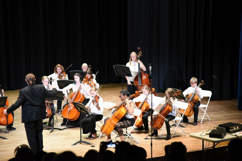 Viola, Cello, Bass ensemble concert 6