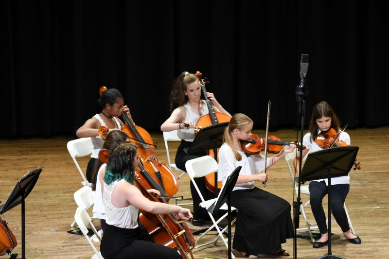 Viola, Cello, Bass ensemble concert 9