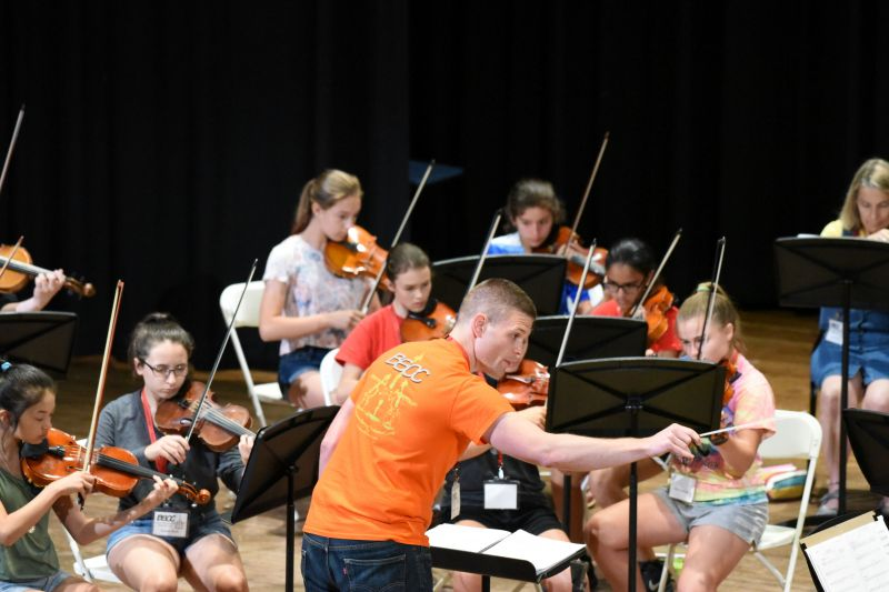 Chamber Orchestra rehearsal 7