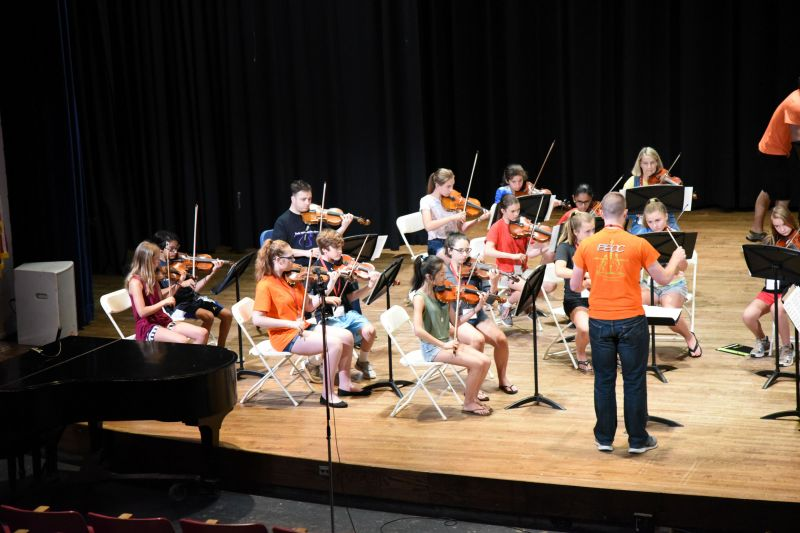 Chamber Orchestra rehearsal 10